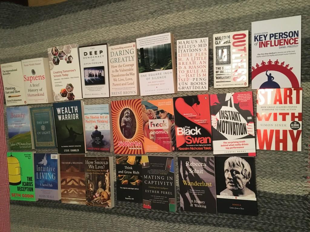 26 English books