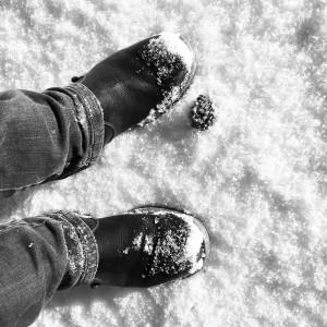 no footprints ahead